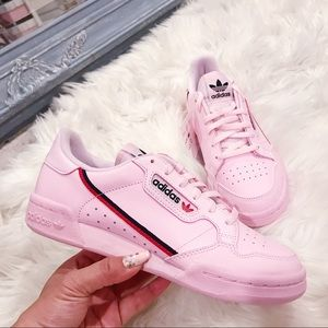 Adidas Continental 80 Pink Sneakers Shoes sz 6